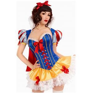 Snow White Costume, Adult Sexy Snow White Costume, Snow White Halloween Costume, #N1813
