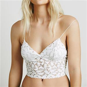 Sexy Lace Lingerie, Fashion Lace Bra Set, Strappy Lingerie, Thin Lace Bra Chemise, Floral Lace Bra Underwear,  Sexy Floral Lace Bra Chemise, #N18912