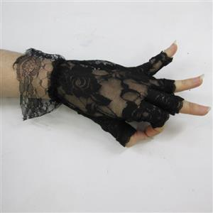 Sexy Accessory, Lace Gloves, sexy Gloves, sexy lingerie wholesale, Gloves wholesale, Lolita Lace Gloves, #HG18916