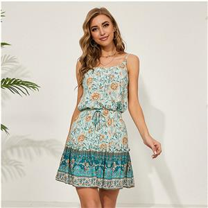 Sexy Sling Top Skirt Sets, Daily Casual Mini Skirt Sets, Sling Tops for Women, Sexy OL Wrap Skirt Sets, Cute Women Sweet Tank Top, Sexy Floral Print Skirt Sets, Sexy Mini Skirt Sets, #20925