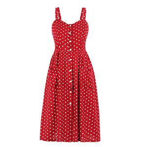 Fashion OL Dress, Fashion Spaghetti Straps Midi Dress, Sexy High Waist Dress, Cheap Party Dress Wholesale, Retro Dresses for Women 1960, Vintage Dresses 1950