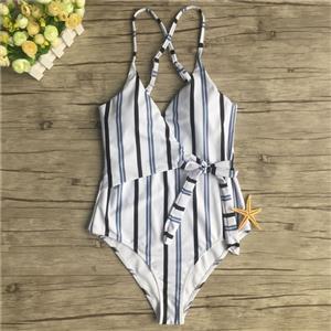 Backless One-piece Swimsuit, Low Cut Bodysuit Lingerie, Sexy Adjustable Straps Swimsuit Lingerie, Fashion Backless One-piece Beachwear, #BK17961