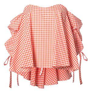 Slim Cotton Shirt, Half Sleeve Blouse, Sexy Women