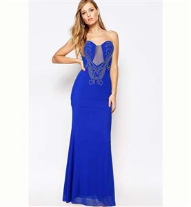 Royalblue Long Dress for Women, Sexy Party Dress for Cheap, Formal Evening Gown, Casual Dress, Pageant Dresses, Plus Size Dresses, #N11174