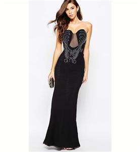 Black Long Dress for Women, Sexy Party Dress for Cheap, Formal Evening Gown, Casual Dress, Pageant Dresses, Plus Size Dresses, #N11175