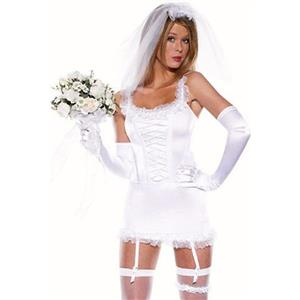 Bride Wedding Costume, Bride First Night Costume, Bride First Night Costume, #N7964