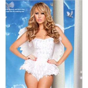 Halloween Costume, Cheap White Angel Costume, Sweet Angel Costume, Lovely Angel Costume, Beauty Angel Girls Costume, #N10881