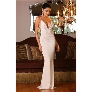 Night Club Party Dress, Cheap Clubwear Dress, Fashion White Dress, Hot Sale Sleeveless Dress, Evening Party Dress, #N11837