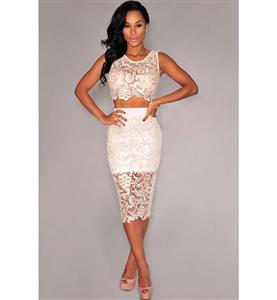 Night Club Party Dress, Cheap Clubwear Dress, Fashion White Dress, Hot Sale Sleeveless Dress, Elegant Lady Dress, Plus Size Dress, #N10861