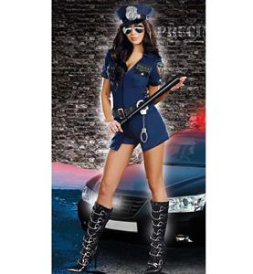 Women Officer Sheila B. Naughty Costume, Cheap Police Costume, Halloween Costume, Hot Sale Costume, #N9829