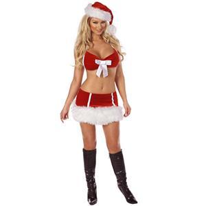 Miss Santa, Sexy Christmas costume wholesale, #XT00014