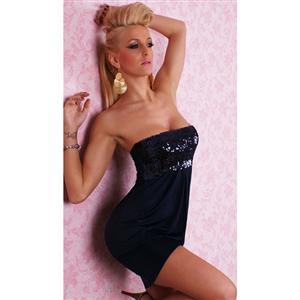 Tank dress, sexy dress, black dress, #N2102