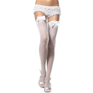 Sheer Lacy Thigh High Stockings, Sexy Stockings,sexy lingerie wholesale, Stockings wholesale, #HG1948