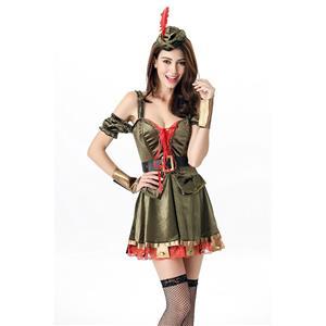 Sexy Halloween Costume, Sherwood Sweetie Costume, Fancy Cosplay Dresses, Fairy Costume, #N9935