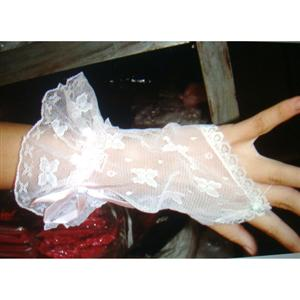 Short Lace Gloves, sexy Gloves, sexy lingerie wholesale, Gloves wholesale, #HG1960