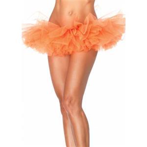 Orange Organza Costume Tutu, ballet