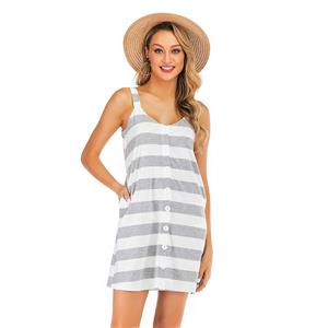 Fashion Slip Dress, Fashion Beach Mini Dress, Beachwear High Waist Tank Dress, Cheap Beachwear Wholesale, Retro Dresses for Women 1960, Vintage Dresses 1950