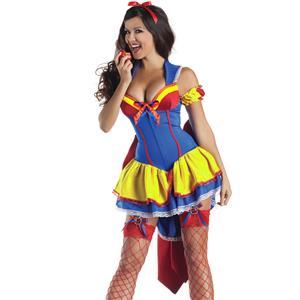 Deluxe Poison Apple Snow White Costume, Snow White Body Shaper Costume, Deluxe Snow White Costume, #N6412