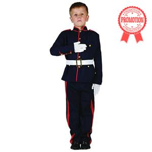 British Military Soldier Costume, Kids Armed Forces costume, Boys Army Uniform Fancy Costume, #N5982
