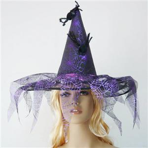 Spider Web Witch Hat, Witch Hat, Web Witch