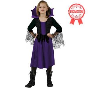 Spider witch costume, Children dressed in halloween, Children halloween Costume, #N5993