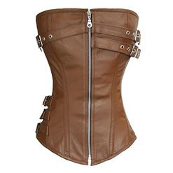 Steampunk Gothic Long Torso Body Shaper Corset N13074