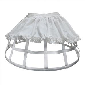 Birdcage Steel Petticoat, Civil War Cage Crinoline, Women