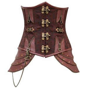 Steampunk Steel Boned Corset N5727