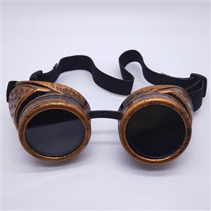 Vintage Industrial Style Vampire Costume, Halloween Cosplay Goggles, Ball Goggles Accessory, Gothic Metal Goggles Accessory, Retro Masquerade Party Goggles, Sexy Party Accessory, Hot Sale Masquerade Mask, Sexy Cosplay Mask Goggles, #MS19797