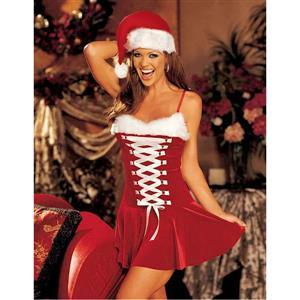 Sexy Santa Outfit, Christmas Outfit, Santa Sweetie Costume, Santa