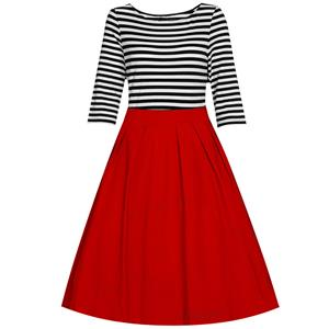 Casual Dresses for Women 1960, Vintage Dresses 1950