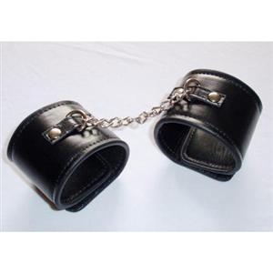 Leather Wrist Restraints, #MS4362