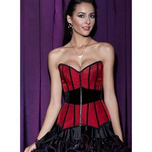 Stunning Surround Red Corset N7707