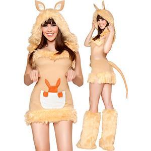 Sexy Kangaroo Costume, Kangaroo Tail Costume, Kangaroo Costume for Adult, Kangaroo Adult Costume, #N4285