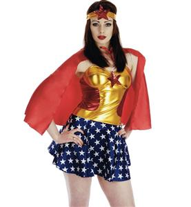 Superhero Miss America Costume N9372