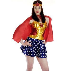 Superhero Miss America Costume N9372