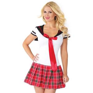 Sweetheart Anime School Girl Costume, Cheap School Girl Costume, Hot Sale School Girl Costume, #N10040