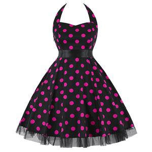 Retro Dresses for Women, Vintage Dresses for Women, Sexy Dresses for Women Cocktail Party, Casual Mini dress, Polka Dot Swing Daily Dress, #N14843