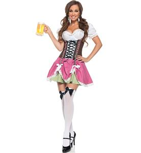 Swiss Girl Costume, Swiss Girl Halloween Costume, Swiss Miss Costume, #N8647