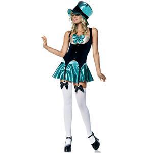 Tea Party Hostess Costume, Alice in Wonderland, Tea Party Hostess Halloween Costume, #N5770