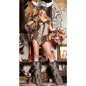 The Viking Deluxe Costume, Female Viking Costume, Adult Sexy Viking Costume, #M2223