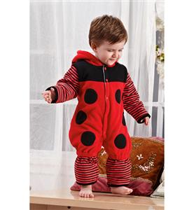 Thick Ladybug Jumpsuit Romper Baby, Halloween Ladybug Costume Baby, Ladybug Climbing Clothes baby, #N6296