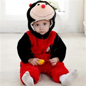 Ladybug Romper Jumpsuit Baby, Halloween Rabbit Costume Baby, Baby Rabbit Climbing Clothes, #N6294