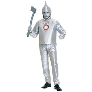 Robot Costume, Halloween Costume Male, Wizard of Oz Film Tinman Cosplay Costume, Classical Tin Man Role Play Costumes, Men