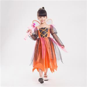 Toddler Pumpkin Witch Costume N5923