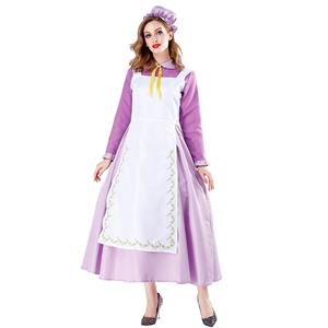 Tea Potts Flim Character Performance Costume, Traditional House Maid Costume, French Maide Costume, Sexy Maiden Cosplay Costume, Adorable Japenese Anime Housemaid Costume, Halloween Maid Cosplay Adult Costume, #N19469