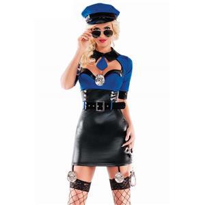 Under Arrest Cop Costume N10703