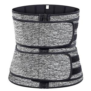 Waist Gym Trainer Corset, Waist Trainer Cincher Belt, Slimmer Body Shaper Belt, Cheap Sport Gym Waist Cincher Belt, Double Velcros Corset Belt, Neoprene Sports Waist Belt, #N20869