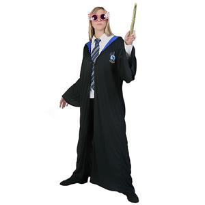 Wiard Role Play Costume, Adult  Halloween Costume, Wizard Magic Robe Halloween Costume, Halloween Robe Costume, Adult Wizard Cosplay Costume, Ravenclaw Robe, #N18995