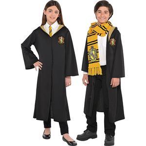 Wizard Role Play Costume, Children  Halloween Costume, Wizard Magic Robe Halloween Costume, Halloween Robe Costume, Children Wizard Cosplay Costume, Hufflepuff Robe, #N18997